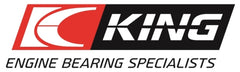 King 07-09 Mazdaspeed 3 L3-VDT MZR DISI (t) Duratec High Performance Main Bearing Set - Size (0.50)