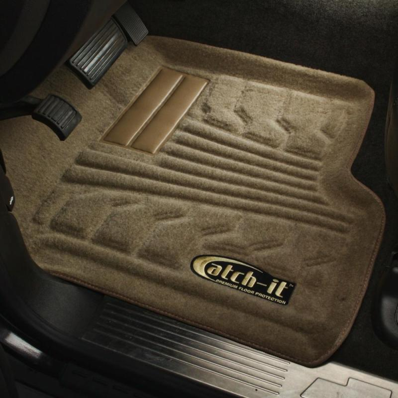 Lund 00-03 Chevy Malibu Catch-It Carpet Front Floor Liner - Tan (2 Pc.)