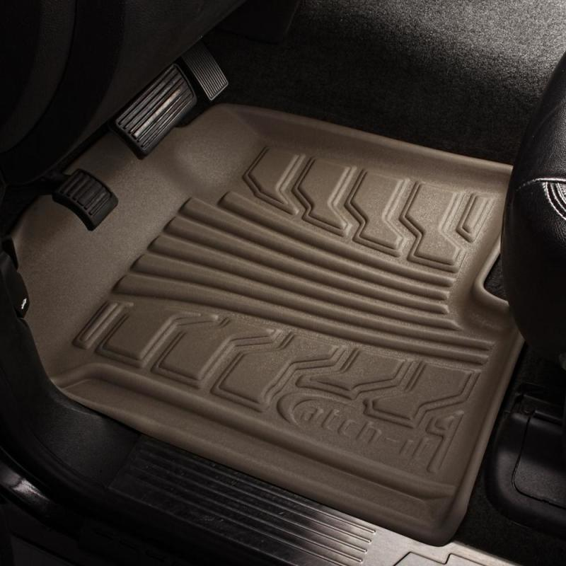 Lund 00-01 Nissan Altima Catch-It Floormat Front Floor Liner - Tan (2 Pc.)