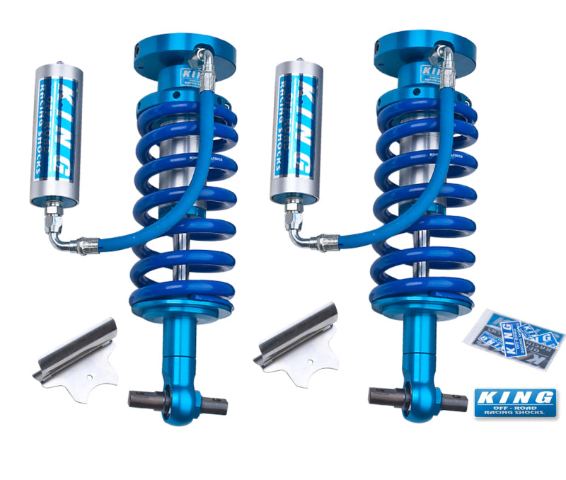 King Shocks 07-18 Chevrolet Avalanche 1500 Front 2.5 Dia Remote Reservoir Coilover (Pair)