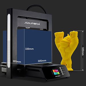JGMaker A5S : Ultra-large forming size