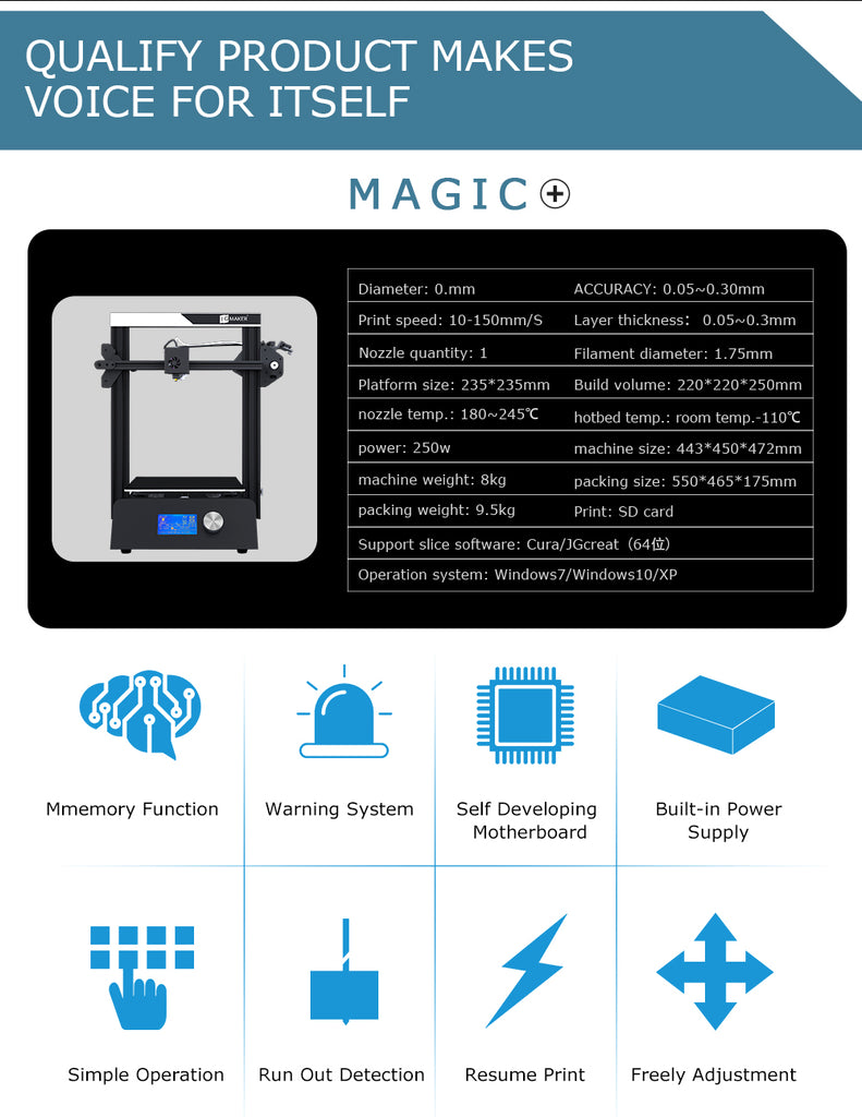 jgmaker magic specification