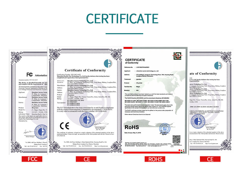 magic certificate