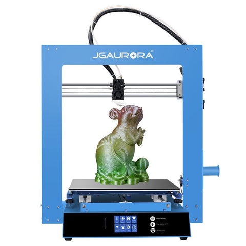 A1 3D Printer Large Print Size 300x300x300mm Alloy Extruder Power Failure Resume