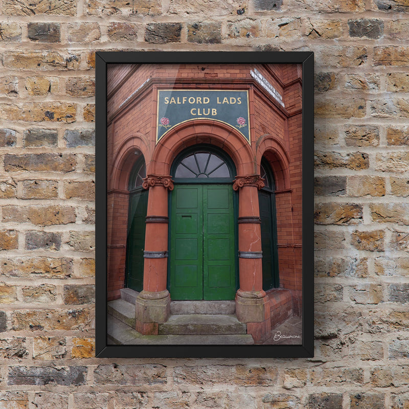Salford Lads Club collab with @emmabeaumont10
