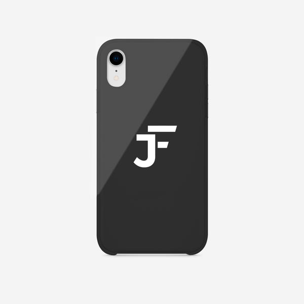 J.F Phone Case Logo Black