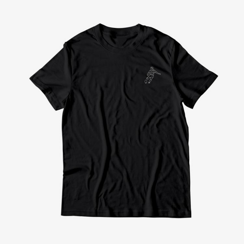 Black T-shirt Nico Sanchez