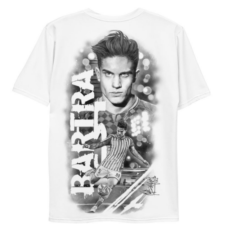 Camiseta Marc Bartra - Draw by Miguel Bohigues