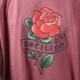 Pink Astilano T-shirt by Junior Firpo