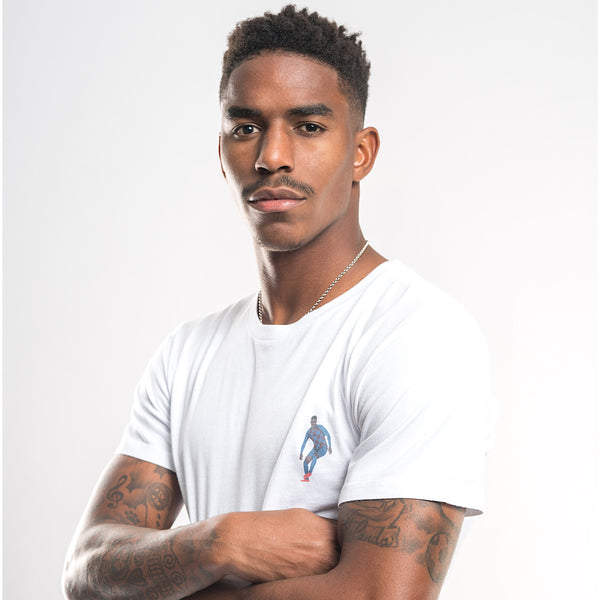 Urban White Long T-shirt Junior Firpo