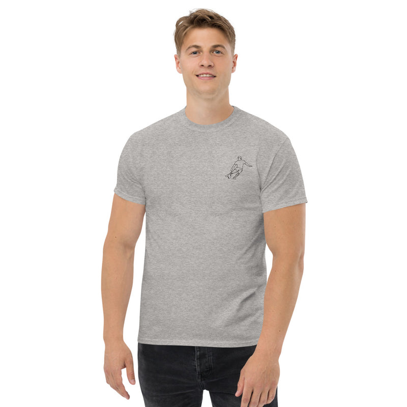 Nico Sanchez Int men's thick t-shirt