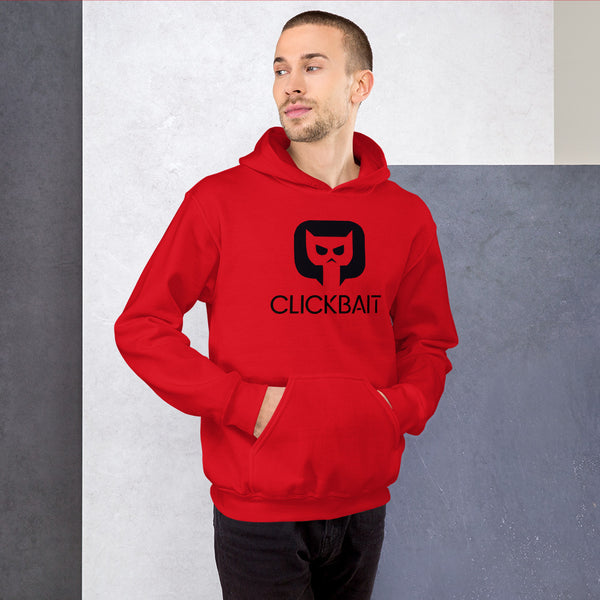 Sudadera con capucha unisex Clickbait by Tobbalink Int
