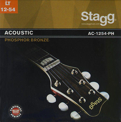 Stagg AC-1254-PH Bronze Extra Light .012-.054