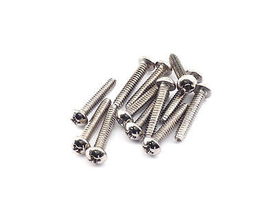 Fender Pickup/Switch Screws 19mm (Chrome)