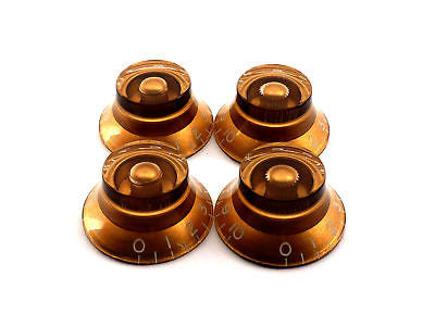 Gibson Style Top Hat Knobs (Vintage Amber)