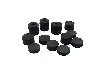 Dunlop ECB124 Grommets Offset-3 Large 3 Small