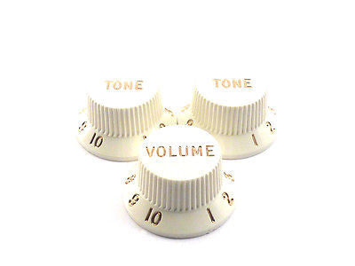 Fender Original Stratocaster Knobs (White)