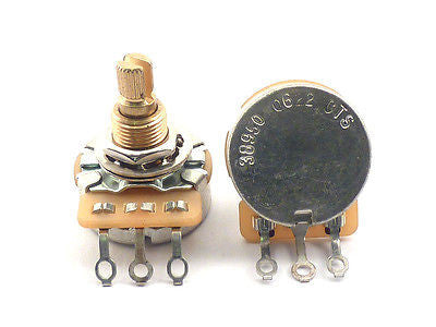 Fender Potentiometer 500K Split Shaft Pot