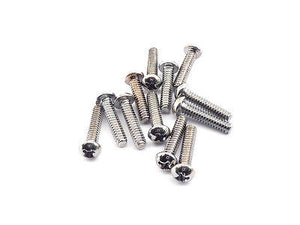 Fender Pickup/Switch Screws 15mm (Chrome)