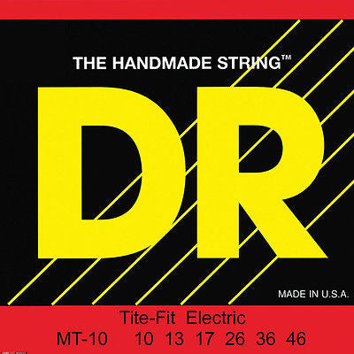 DR Tite-Fit MT-10 Gauge Electric Guitar Strings