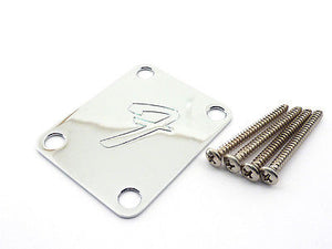 Fender Original Neck Plate 'F' Logo Chrome
