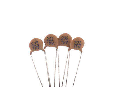 Ceramic Disc Capacitor .0022μF (222)