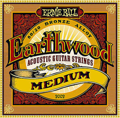 Ernie Ball Earthwood Bronze Medium Strings