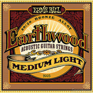 Ernie Ball Earthwood Bronze Medium Light Strings