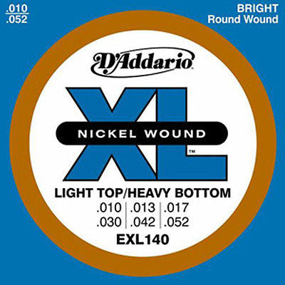 D'Addario EXL140 Light Top/Heavy Bottom