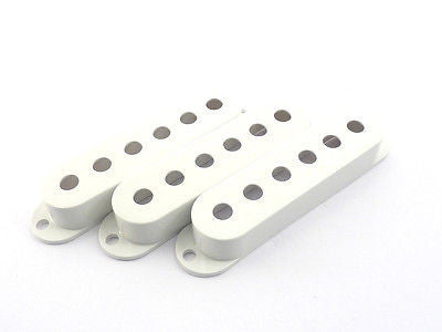 Fender Stratocaster Pickup Covers (White)