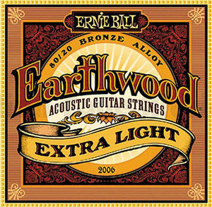 Ernie Ball Earthwood Bronze Extra Light Strings
