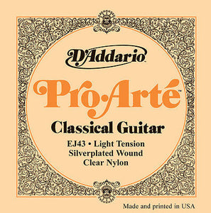 D'Addario EJ43 Classical Strings