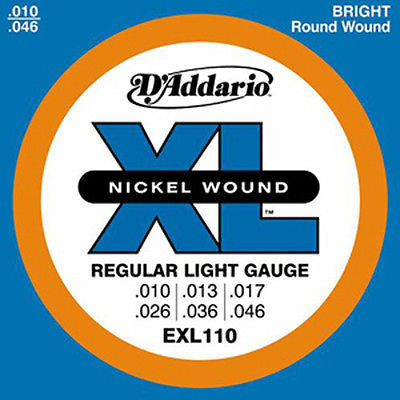 D'Addario EXL110 Regular Light Gauge