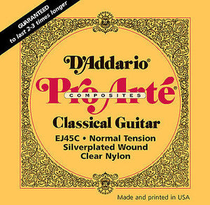 D'Addario EJ45C Classical Strings
