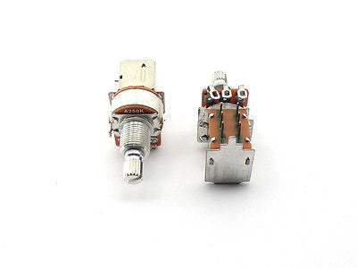 Fender Push/Pull Potentiometer 250K Split Shaft Pot