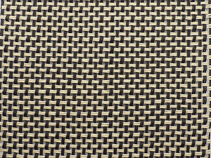 Marshall Black/Cream (Salt n Pepper) Weave Grill Cloth 80x45cm