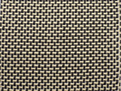 Marshall Black/Cream (Salt n Pepper) Weave Grill Cloth 80x90cm