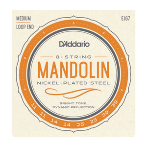 D'Addario EJ67 Mandolin Strings Loop End