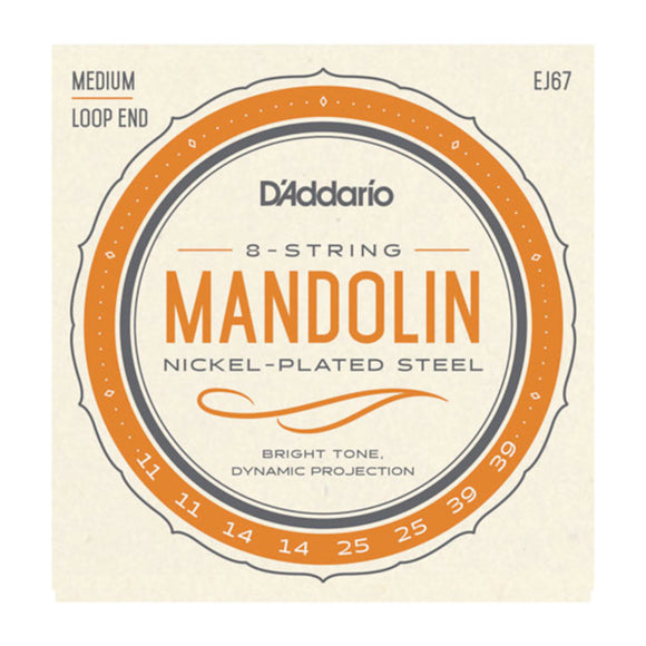 D'Addario EJ67 Mandolin Strings