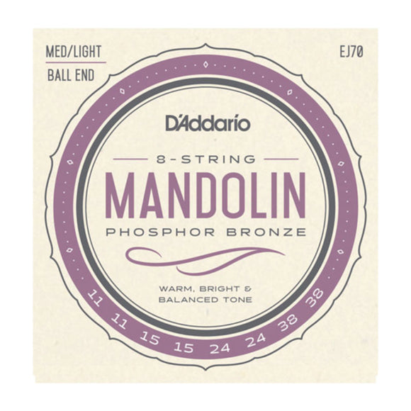 D'Addario EJ70 Mandolin Strings