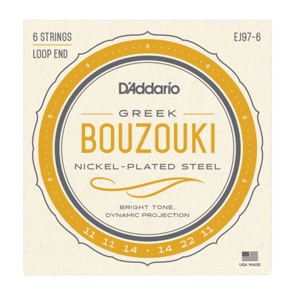 D'Addario EJ97-6 Greek Bouzouki Strings