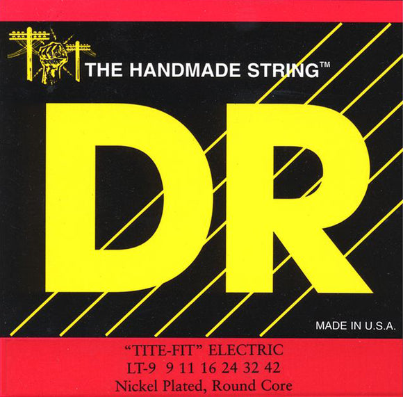 DR Tite-Fit LT-9 Gauge Guitar Strings