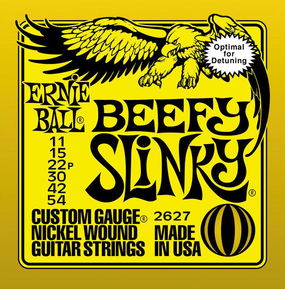 Ernie Ball Beefy Slinky Nickel Guitar Strings