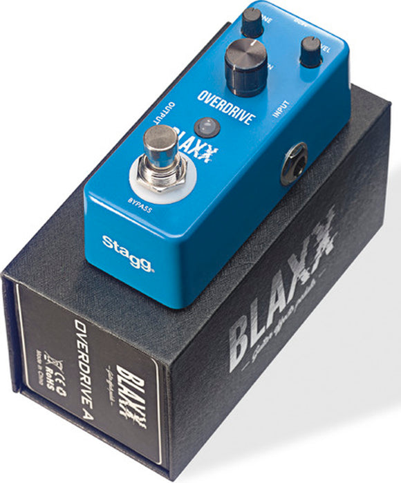 Stagg Blaxx Overdrive Compact Guitar Pedal