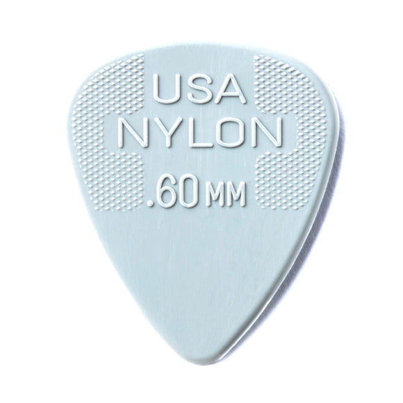 Jim Dunlop Nylon Standard Plectrum (.60mm)