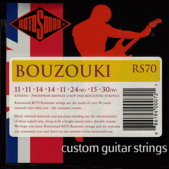 Rotosound RS70 Greek Bouzouki Strings