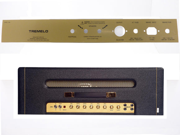 Marshall JTM 1962 (1962HW) Plexi Rear Faceplate