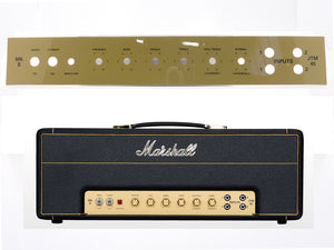Marshall JTM45 MKII (2245) Plexi Mk II Front Faceplate