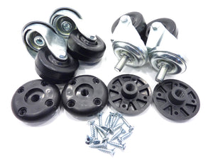 Marshall Casters and Caster Adaptors (Set of 4)