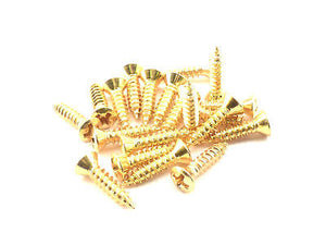 Pickguard Screws (Gold)